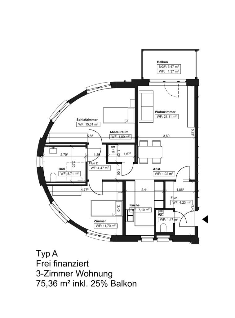 Wohnungstyp A