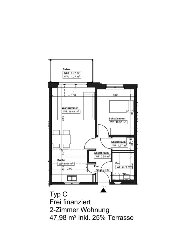 Wohnungstyp C