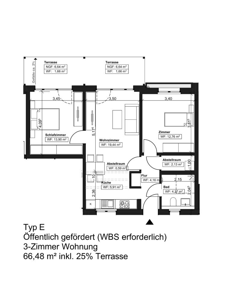 Wohnungstyp E