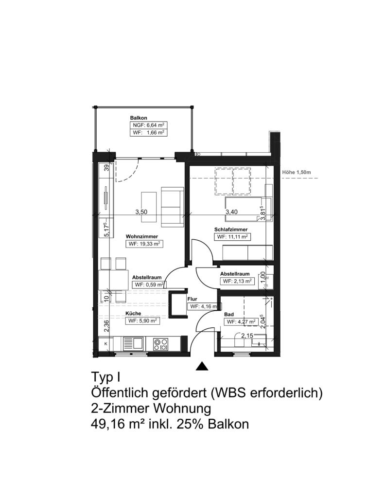 Wohnungstyp I