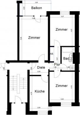 Erdgeschosswohnung in zentraler Lage 41747 Viersen (Stadtmitte)<br>Erdgeschosswohnung