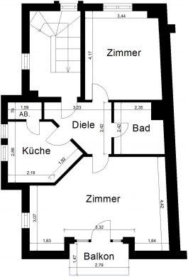 Gepflegte Wohnung in Viersen, 41748 Viersen (Hamm)<br>Etagenwohnung